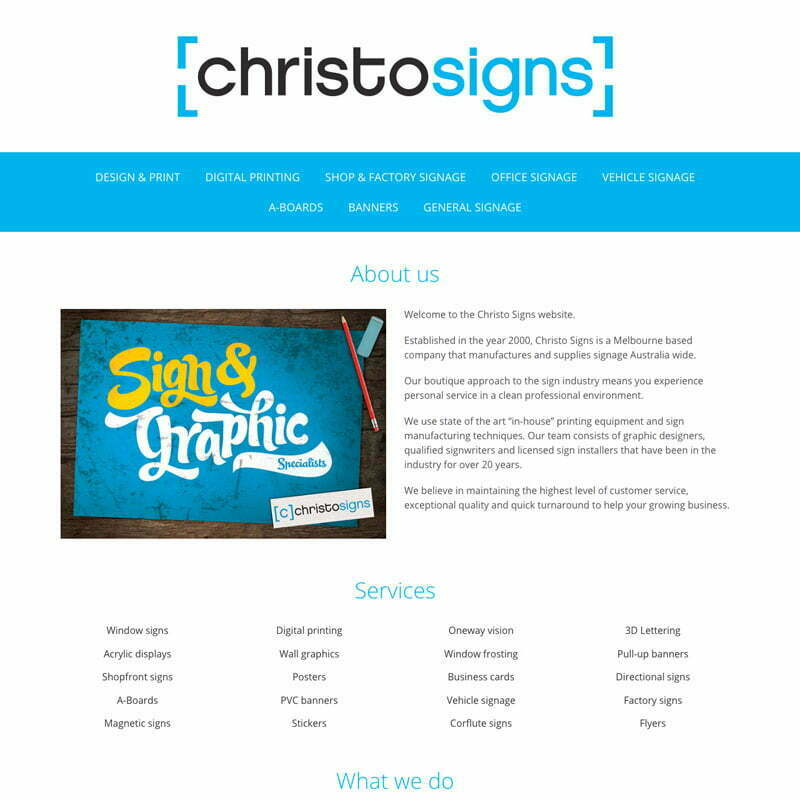 muzKore - Project - Christo Signs