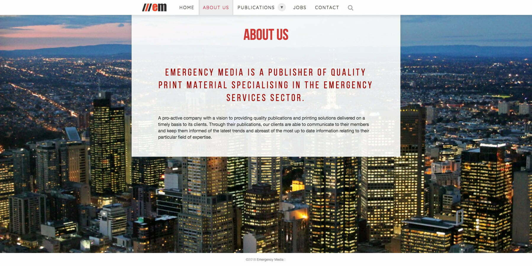 muzKore - Project - Emergency Media - About Us